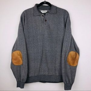 Orvis Grey Sweater Size Large